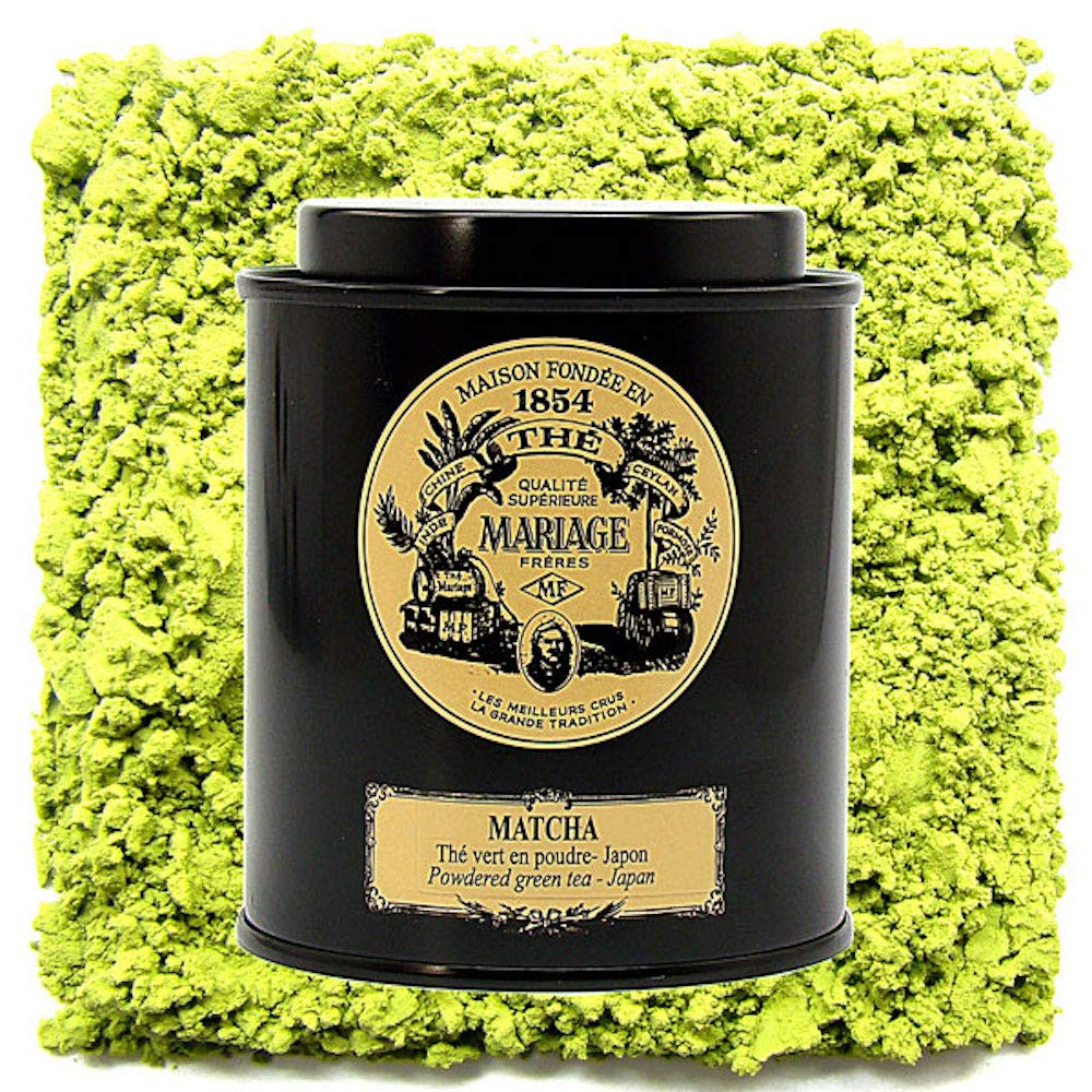MARIAGE FRERES TEA - MATCHA Powder green tea Organic garden - Japan