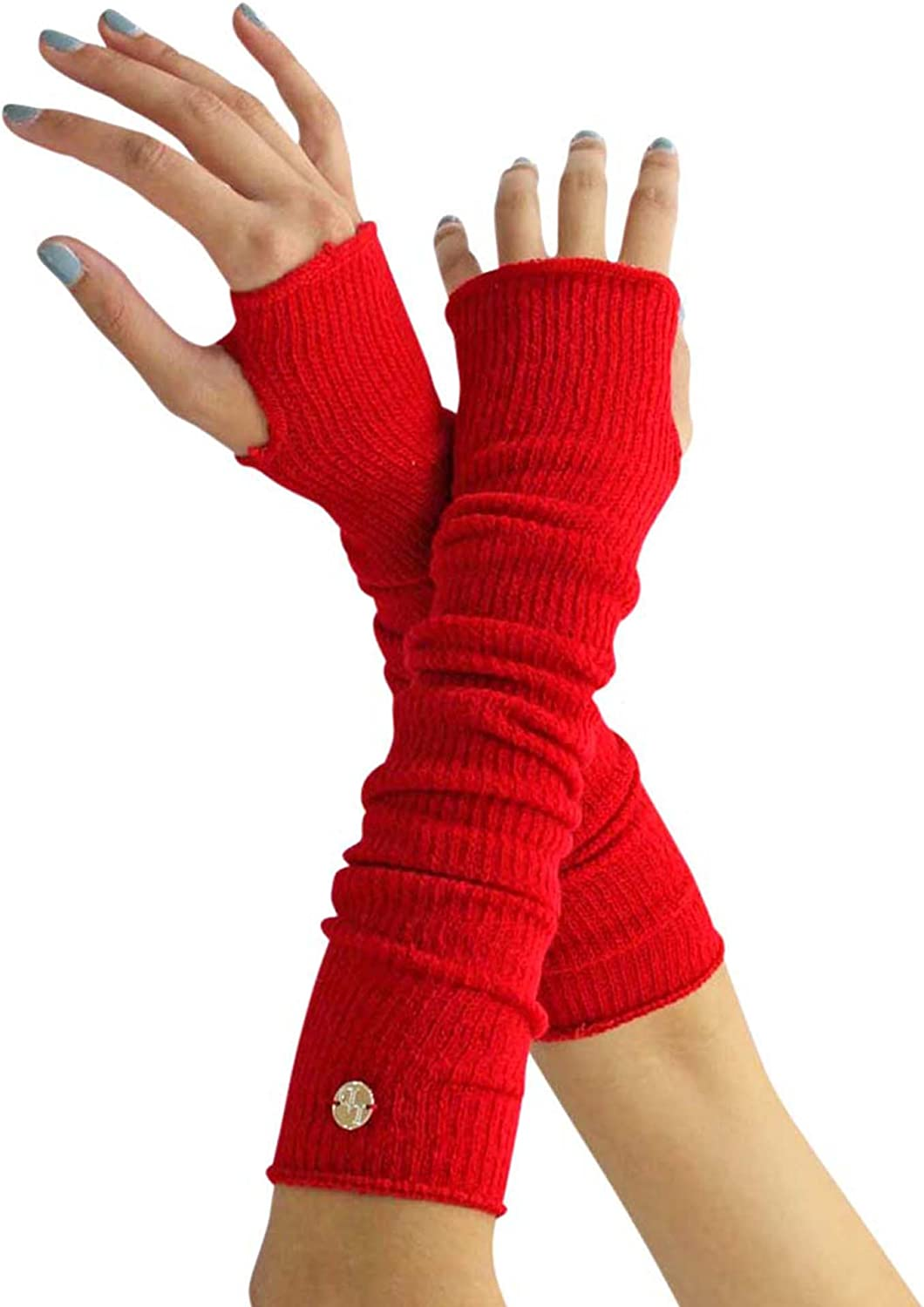 Long Arm Warmers With Thumb...