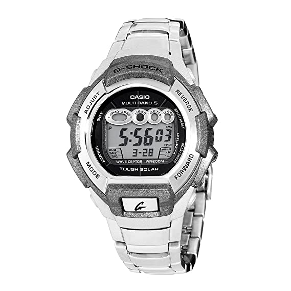 Casio GW810D-1A - Reloj de Pulsera Hombre, Acero Inoxidable ...