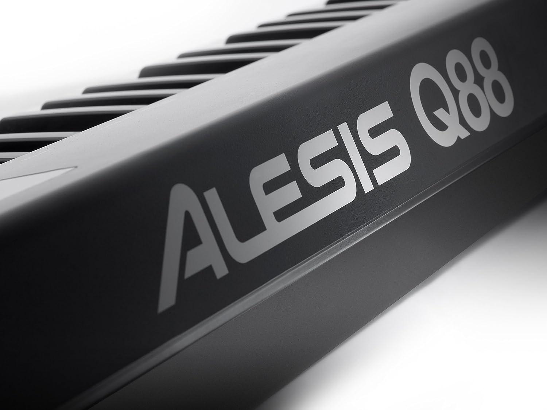 Alesis - Q88 teclado controlador midi usb 88 teclas q-88 ableton: Amazon.es: Instrumentos musicales