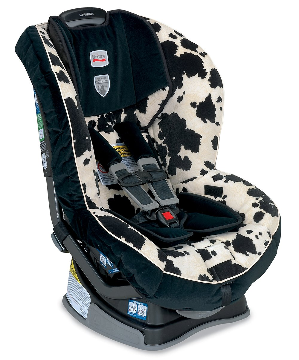 Amazon.com: Britax Marathon G4 Convertible Car Seat, Cowmooflage (Prior  Model): Baby