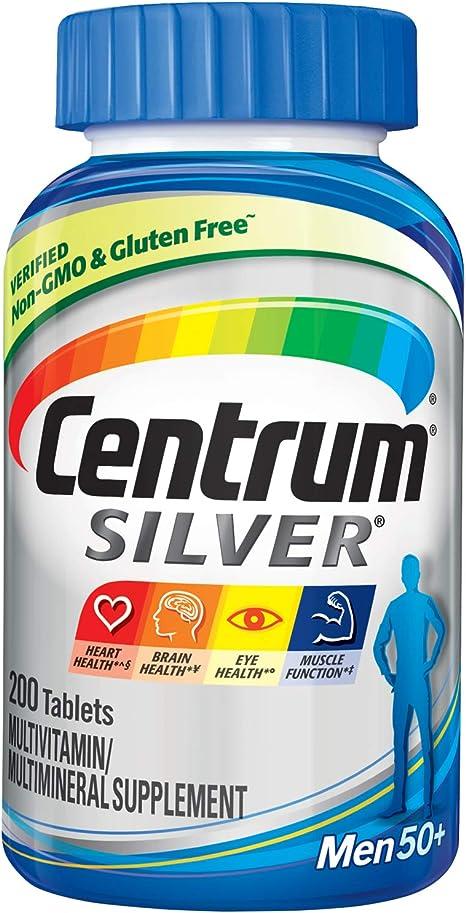 Centram silver vitamin para hombres