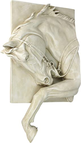 Design Toscano Prancing Steed Horse Wall Sculpture