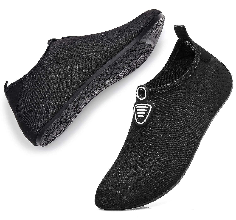 fbfae378ec38a MET520 Men Women Water Shoes Quick-Dry Aqua Socks Barefoot Slip-on for  Sport Beach Swim Surf Yoga Exercise