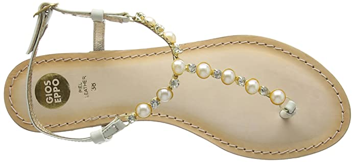 Beige 39 Femme Gioseppo White Ouche Sandales Off tw8CYqxgR
