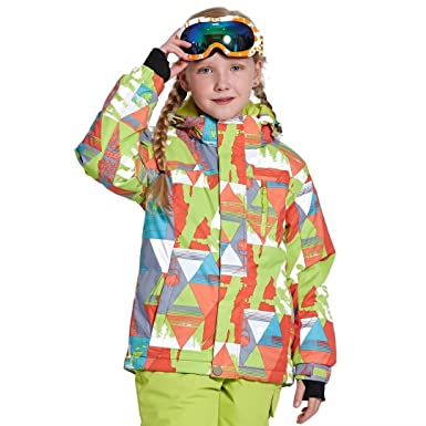 6f9faf013 Amazon.com  Snow Kids Ski Pants 5T-12T Windproof Waterproof ...
