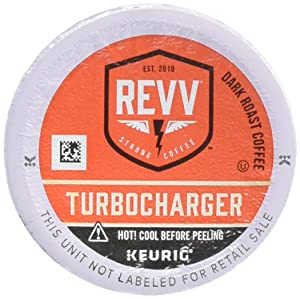 REVV TURBOCHARGER Coffee Keurig K-Cup Pod (24 Count)