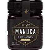 Kiva Certified UMF 20+, Raw Manuka Honey - New Zealand (8.8 oz)