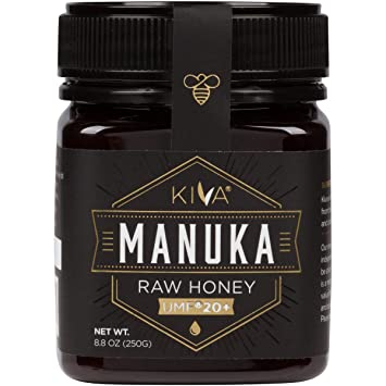Amazon Com Kiva Certified Umf 20 Raw Manuka Honey New Zealand