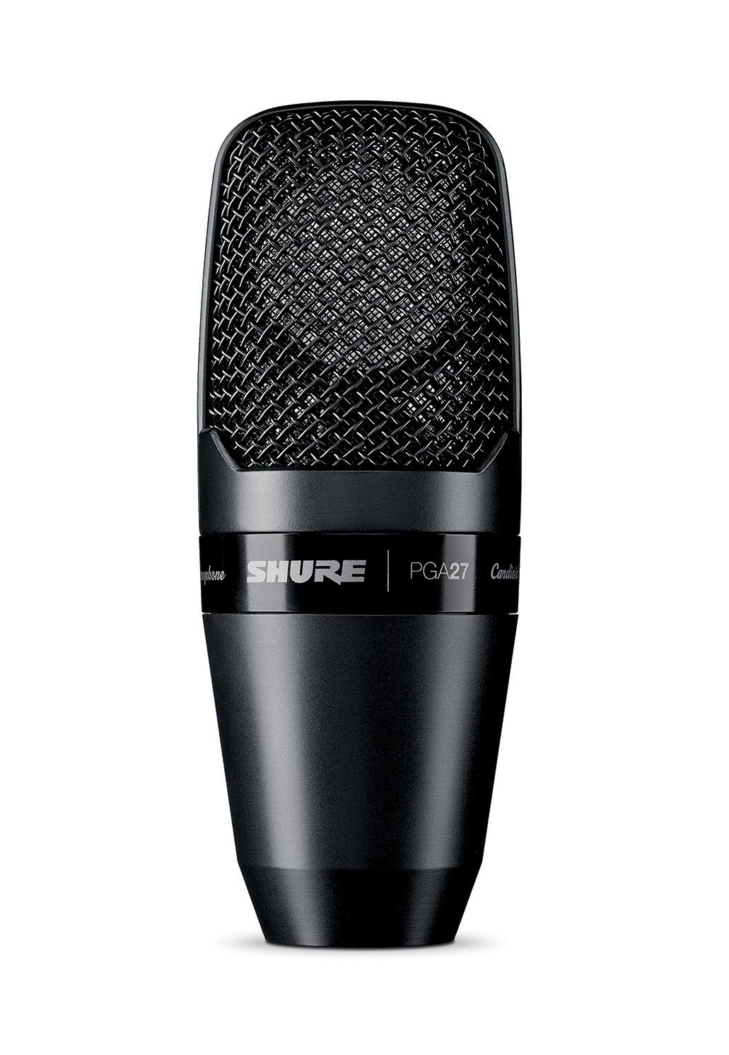 Shure PGA27-LC Large-Diaphragm Side-Address Cardioid Condenser Microphone with Shock-Mount and Carrying Case, No Cable Shure Incorporated