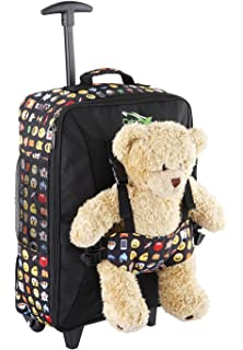 SAMSONITE Happy Sammies Upright 45-1.7 kg, 45 cm, 24 L, Teddy Bear