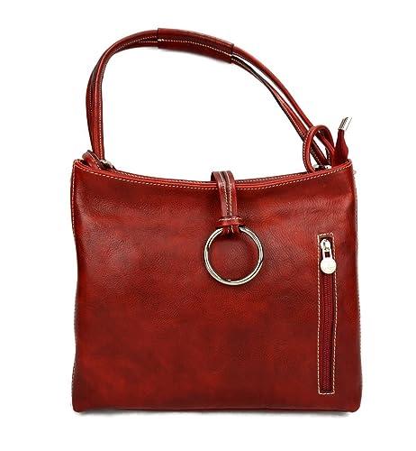 Bolso de mujer piel de bandolera de espalda bolso de cuero de bolso 1qr18w