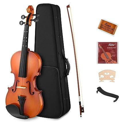 Amazon.com: Eastar EVA-2 4/4 juego de violín de tamaño ...