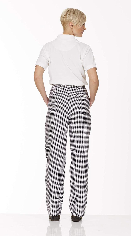 240g//m/² DESERMO Premium Kochhose Herren aus 100/% Baumwolle Bequeme Kochhosen Damen mit 3 Taschen /& Rei/ßverschluss Hochwertige B/äckerhose mit einem Stoffgewicht
