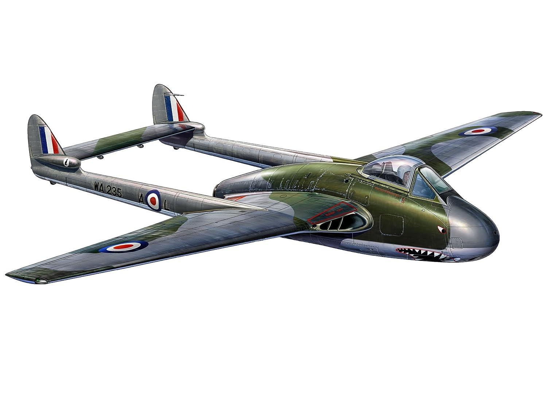 79de23b4a9e9e0 Revell De Havilland Vampire Jet Fighter Aircraft Model Set  Amazon.co.uk   Toys   Games