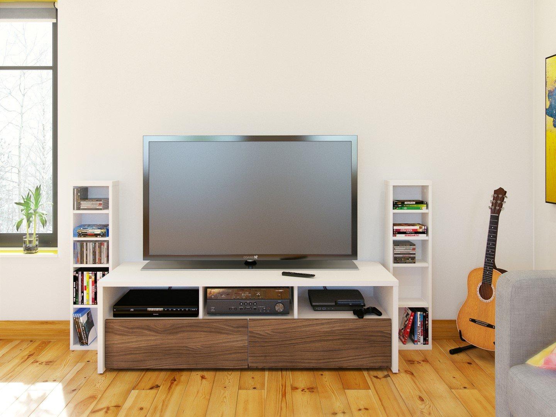 nexera furniture website. Nexera 211003 Liber-T CD/DVD Storage Towers, White, Set: Amazon.co.uk: Electronics Furniture Website