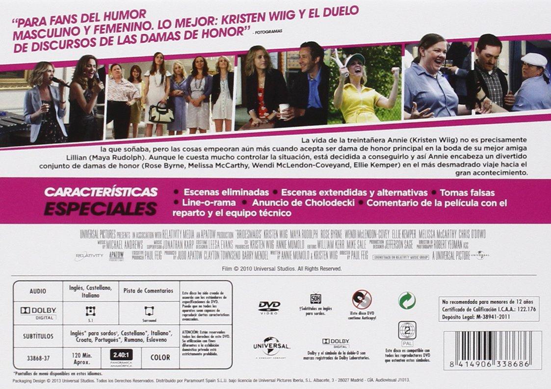 La Boda De Mi Mejor Amiga - Edición Horizontal [DVD]: Amazon.es ...