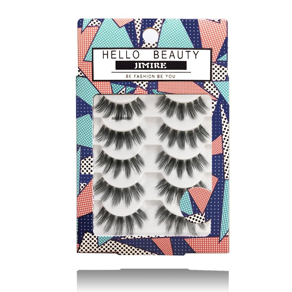 JIMIRE HELLO BEAUTY Multipack High Drama 615 Eyelashes by JIMIRE (Image #1)