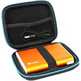 For Power Bank Jackery Giant+ / Jackery Giant 12000 12000mAh Portable Battery Charger Hard Case by Markstore