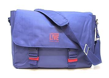 size 40 10eba 0a4b3 Lacoste 'Leben' Parfums blau Messenger/Laptop/Tasche * NEU ...