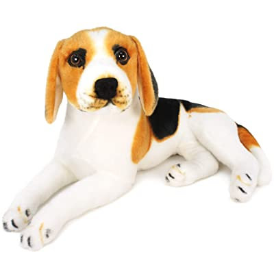 VIAHART Brittany The Beagle | 17 Inch Large Beagle Dog Stuffed Animal Plush | by Tiger Tale Toys: Toys & Games
