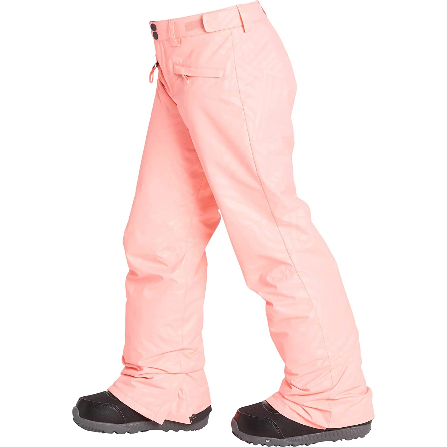 Billabong Big Alue Girls Insulated Snow Pant, Peach, L