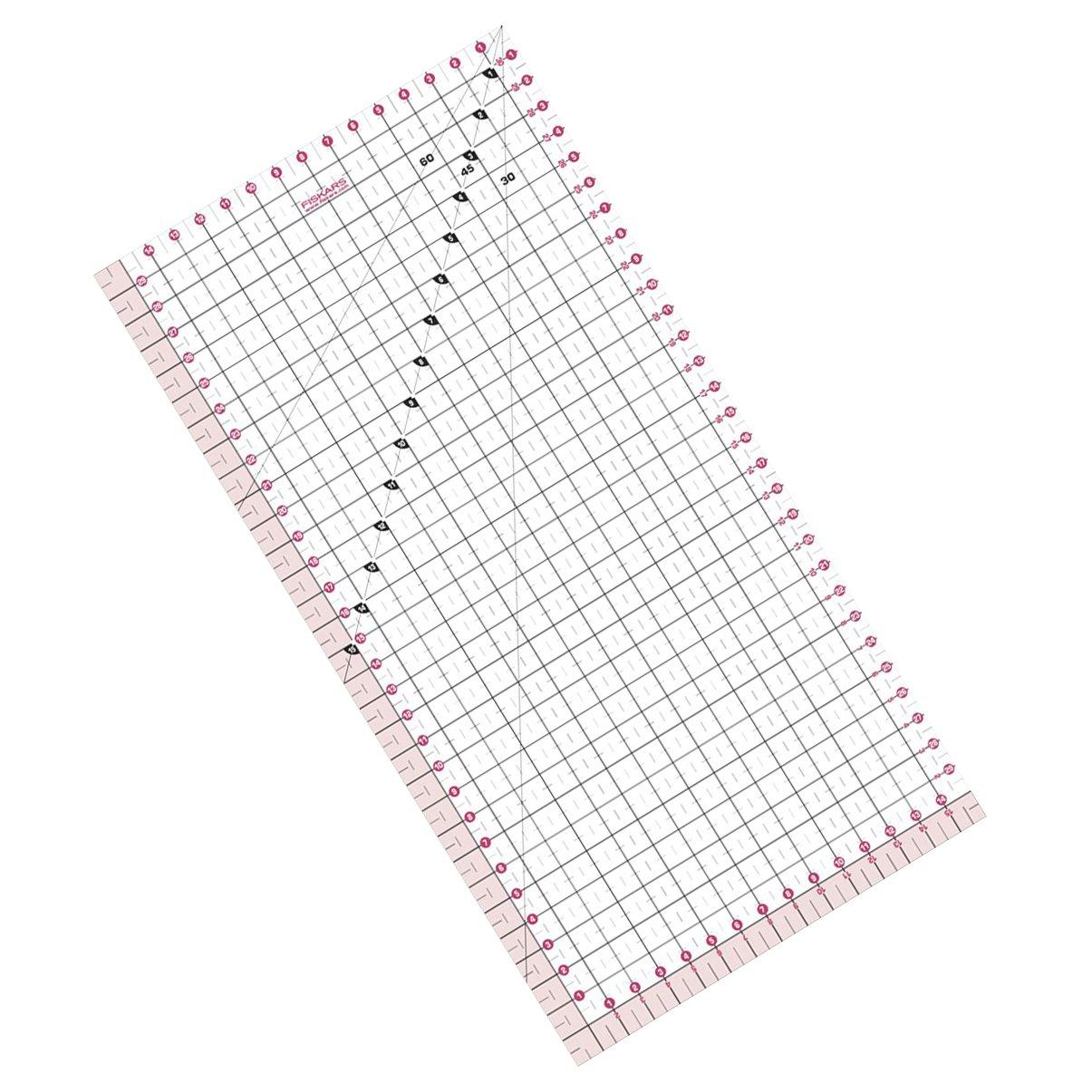 Fiskars Patchwork Ruler 15cm x 30cm 8733