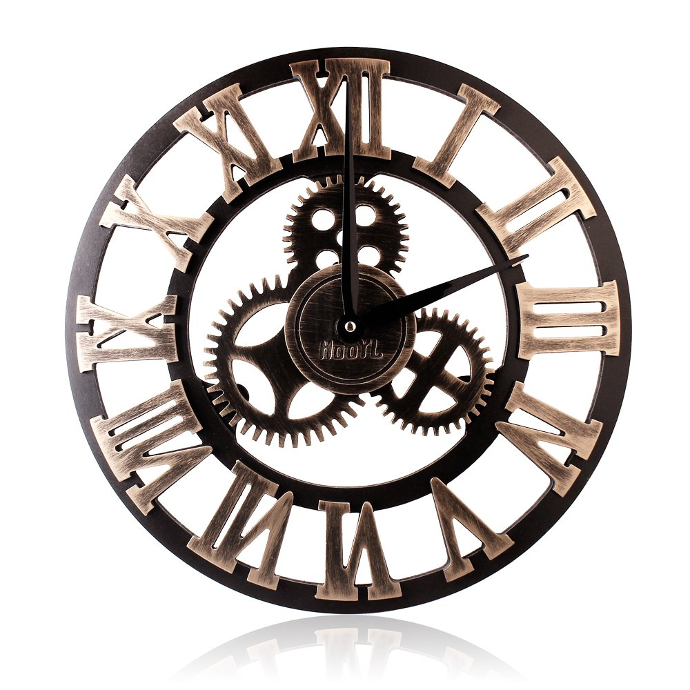 Horloge Industrielle Maison Du Monde Auch Inspirant: Industrial Wall Clock: Amazon.co.uk
