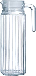 Arcoroc Quadro fridge jug with lid, 1L.