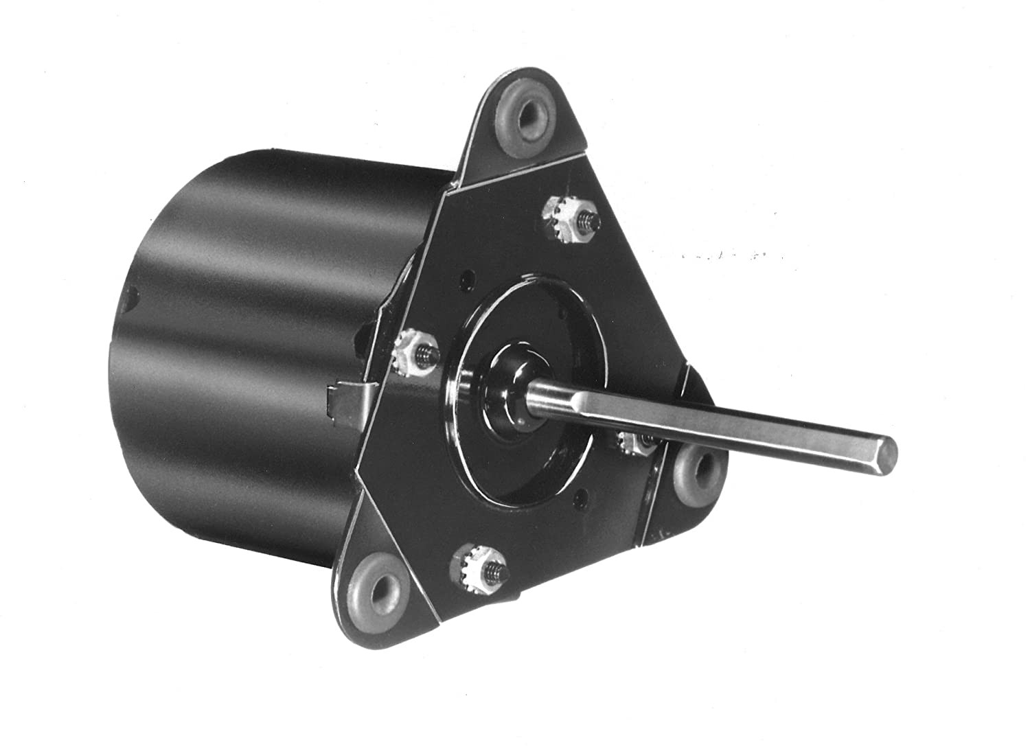 Fasco D1118 3.3-Inch Frame Open Ventilated Shaded Pole General Purpose Motor with  Ball Bearing, 1/30HP, 1500RPM, 240V, 60Hz, 0.6 Amps