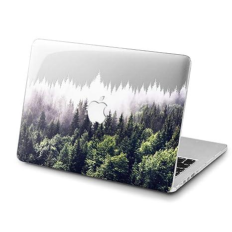 34cde03417232 Lex Altern MacBook Pro 13 inch 2018 Case A1989 A1706 A1708 Dark Forest Mac  New 15 Nature 2018 Retina Green 12 Spruce View Cover Hard 11 Apple 2017 ...