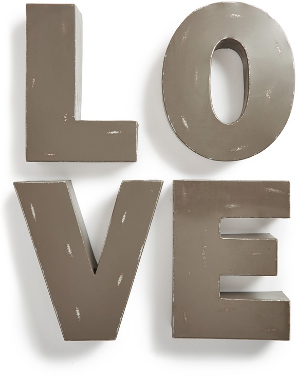 Foreside 'Love' Decorative Metal Letters | Nordstrom