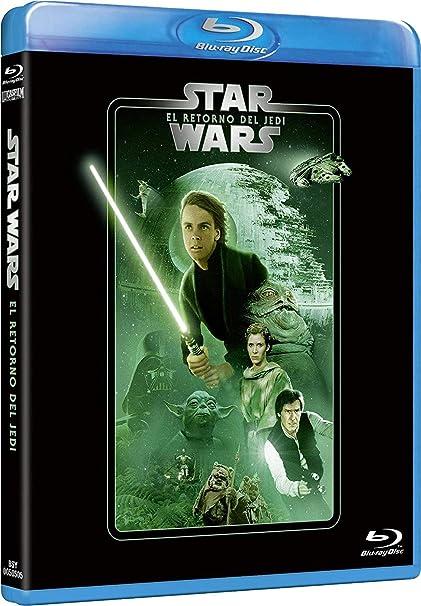 Star Wars Ep VI: El retorno del Jedi Edición remasterizada 2 discos película + extras Blu-ray: Amazon.es: Mark Hamill, Harrison Ford, Carrie Fisher, Richard Marquand, Mark Hamill, Harrison Ford, Rick McCallum: Cine