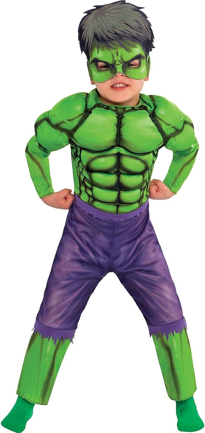 SUIT YOURSELF Disfraz de Hulk Muscle para niños pequeños, talla 3 ...