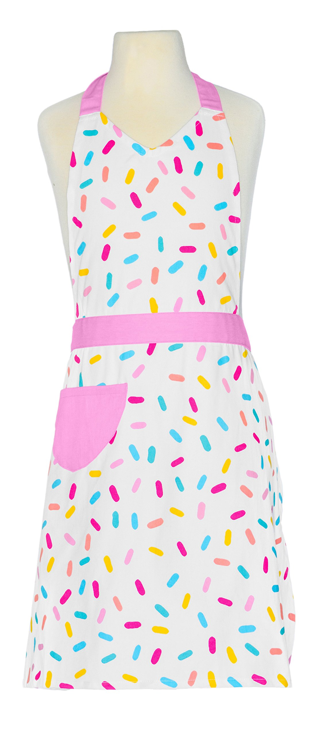 Handstand Kitchen Mother and Daughter Sprinkles 100% Cotton Apron Gift Set by Handstand Kitchen (Image #2)