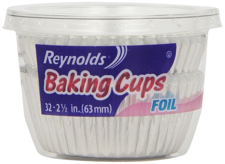 Reynolds Baking Cups, Large Foil (32 ct)