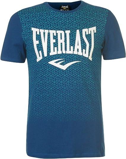 Everlast Hombre Geo Print Camiseta Manga Corta: Amazon.es: Ropa y ...