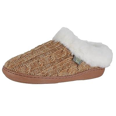 Cloud Nine Sheepskin Women's Crochet Clog Slipper   Slippers
