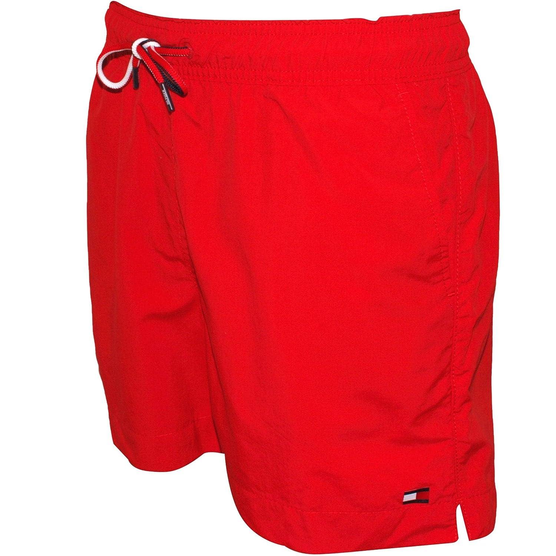 Tango Red Tommy Hilfiger Classic Mens Swim Shorts