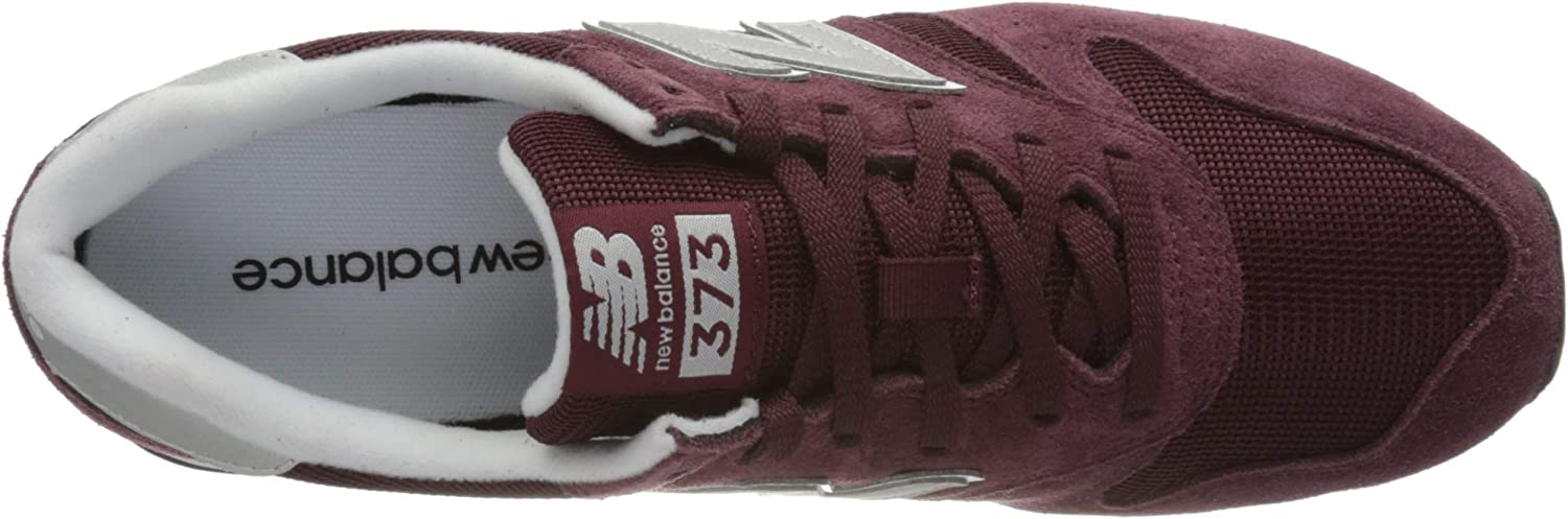Nieuwe evenwicht mannen 373v2 M Trainers Rood Rood Wit Cd2