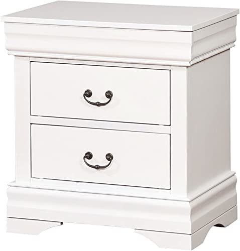 HOMES Inside Out Ottley Nightstand, White