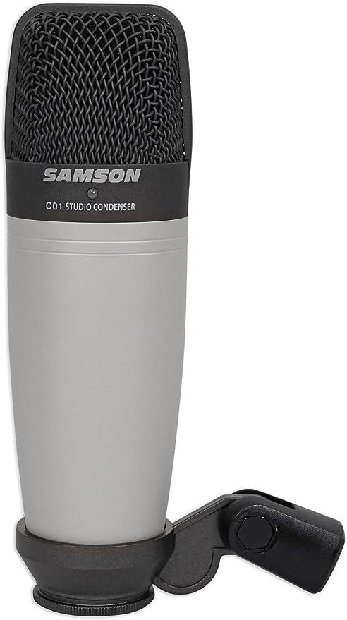 Samson C01 Large-Diaphragm Cardioid Condenser Microphone