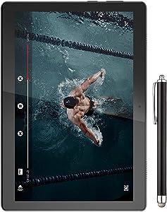 Lenovo Tab M10 10.1-inch HD IPS (1280x800) Display WiFi Tablet, Qualcomm Snapdragon 429 2.0 GHz Processor, 2GB RAM, 16GB Storage, Bluetooth, Camera, Android 9.0, Slate Black w/Stylus Pen