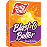 Jolly Time Blast O Butter Theater Style Microwave Popcorn, 6-Count Boxes (Pack of 6)