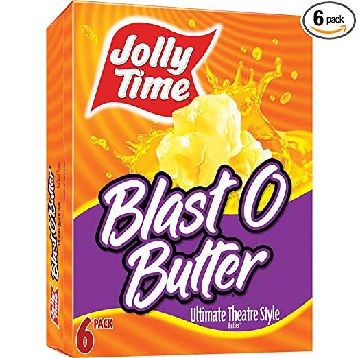 Jolly Time Blast O Butter Theater Style Microwave Popcorn