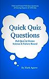 Quick Quiz Questions Pub Quiz At Home: Science & Nature Round