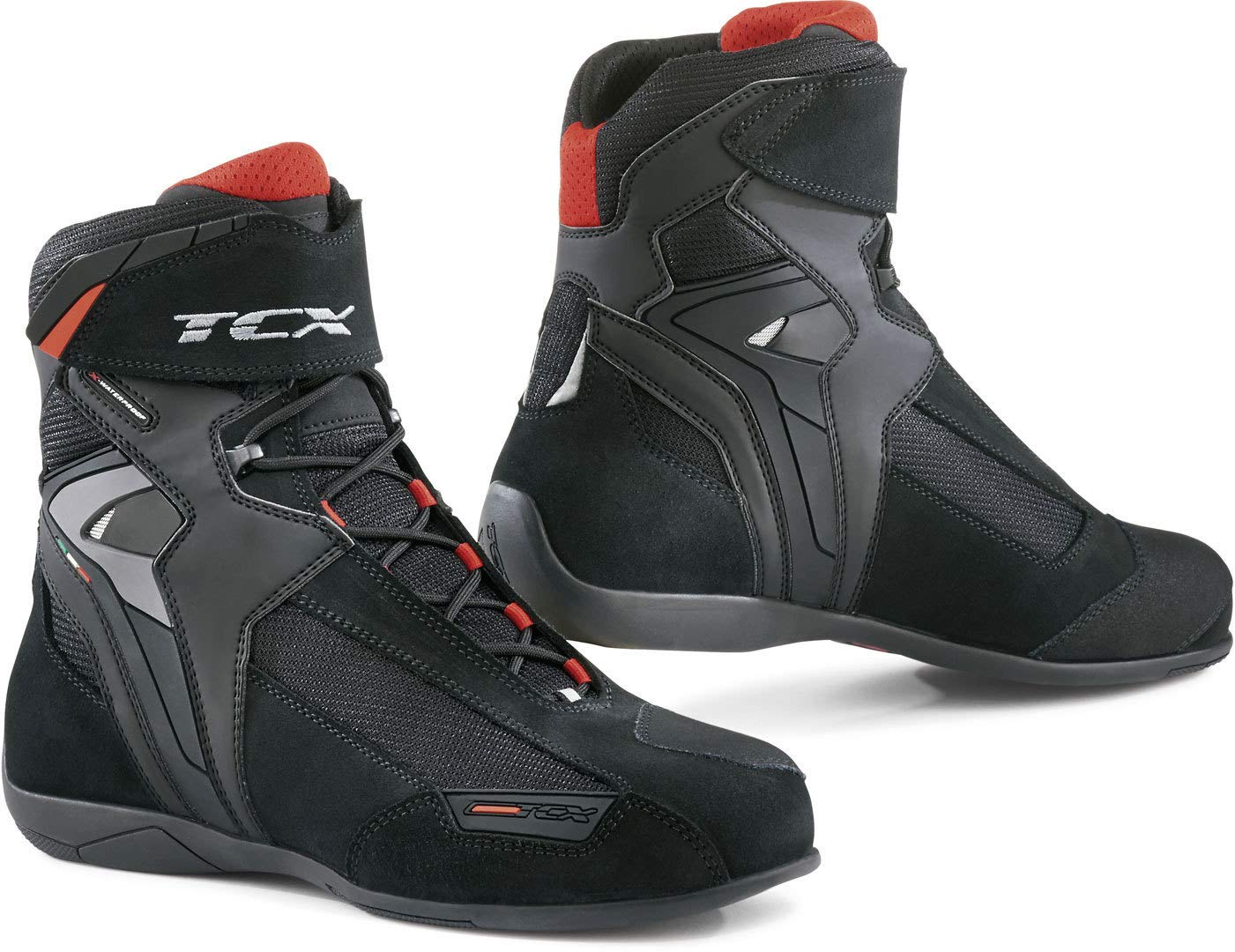 TCX Vibe WP Botas de Urban Cortos para Moto Bicicleta Impermeable/-/Negro