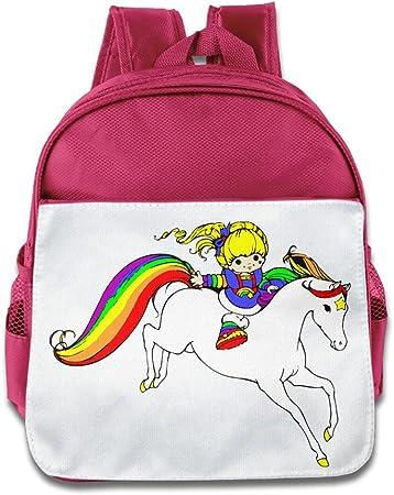 Rainbow Brite Niñas Classic Pack mochila escolar: Amazon.es: Hogar
