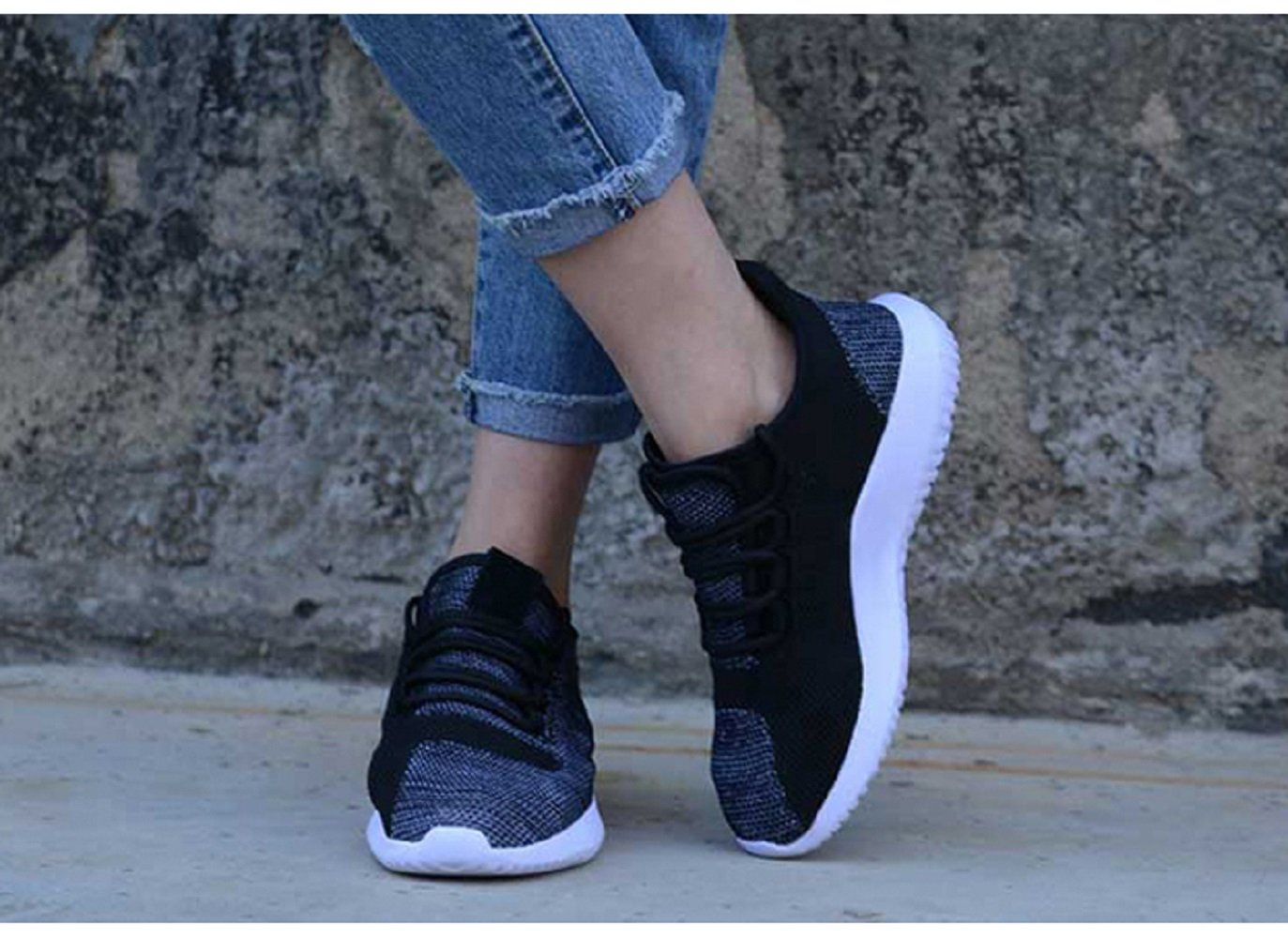 GAOAG Sneakers Running Cushioning Lightweight Breathable Casual Shoes Unisex by GAOAG (Image #5)