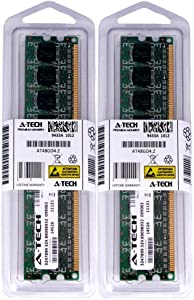 2GB KIT 2X 1GB for Dell Dimension 3100 4700 5000 5100 5100C 5150 DM051 5150c 5150n 8400 9100 9150 9200 9200C C521 E310 E310n E510 E510n E520 E521. DIMM DDR2 Non-ECC PC2-4200 533MHz RAM Memory